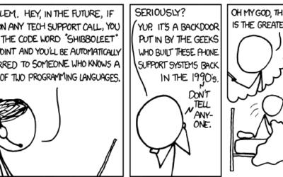 Les garanties des ordinateurs, vue par un démon des Enfers ;-) (Ou comment Terry Pratchett et Neil Gaiman voient les fabricants d'informatique)